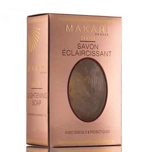 MAKARI 24K GOLD Exfoliating SOAP.